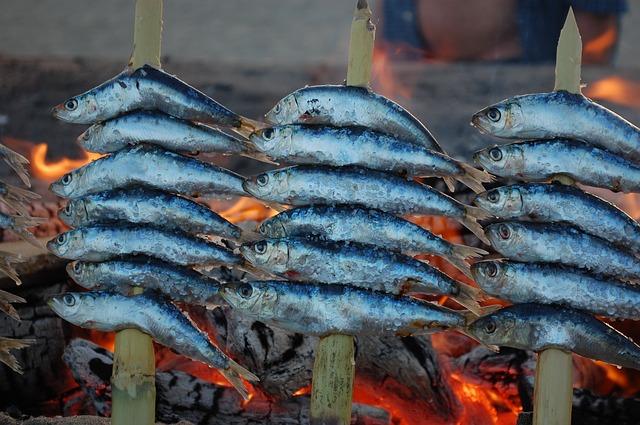 Ryby na špízu