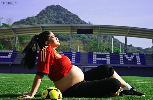 těhotenství a fotbal